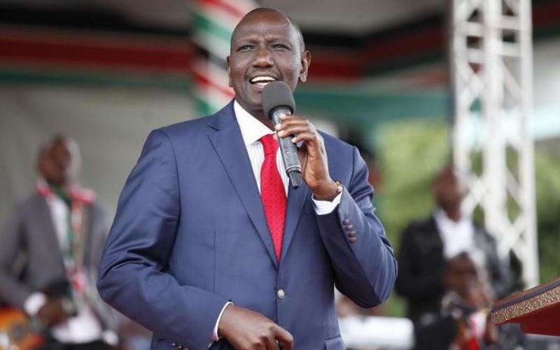 Ruto asks leaders to avoid hurling insults at the first family