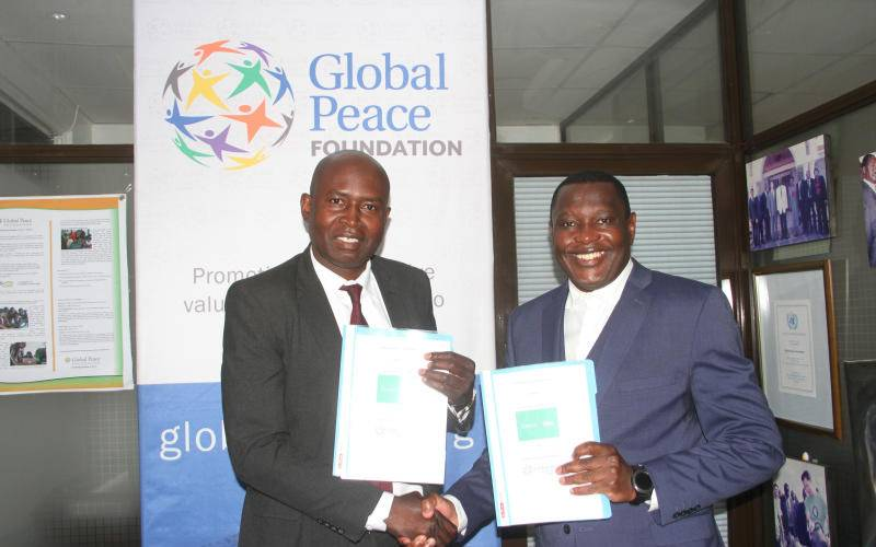 Sasini Talanta mtaani to collaborate with Global Peace Foundation for Youth empowerment