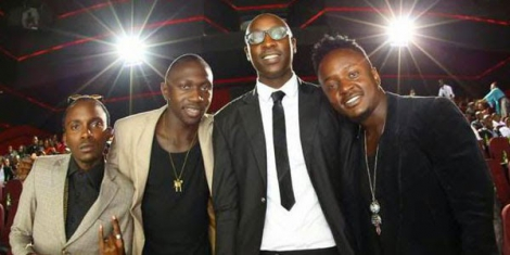 Sauti Sol rubbing shoulders with Bill Gates, Jay-Z and other A-list celebrities in New York