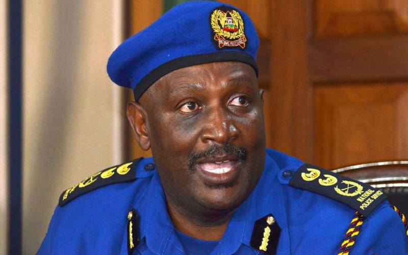 Section of Kenyans unhappy with IG Mutyambai's remarks on reopening of bars