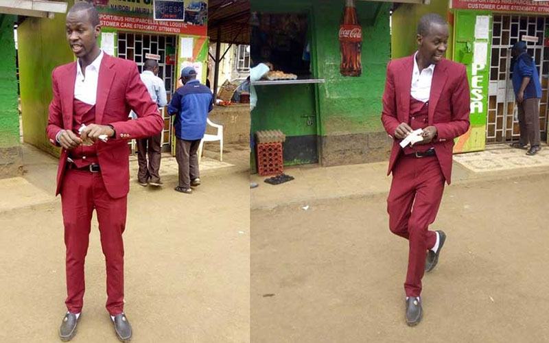 Sh72,000 collection: Limuru matatu tout who wears a suit every day
