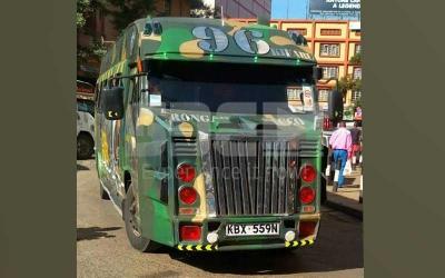 Shame of the week: Rongai matatu Kifaru has no respect for its passengers