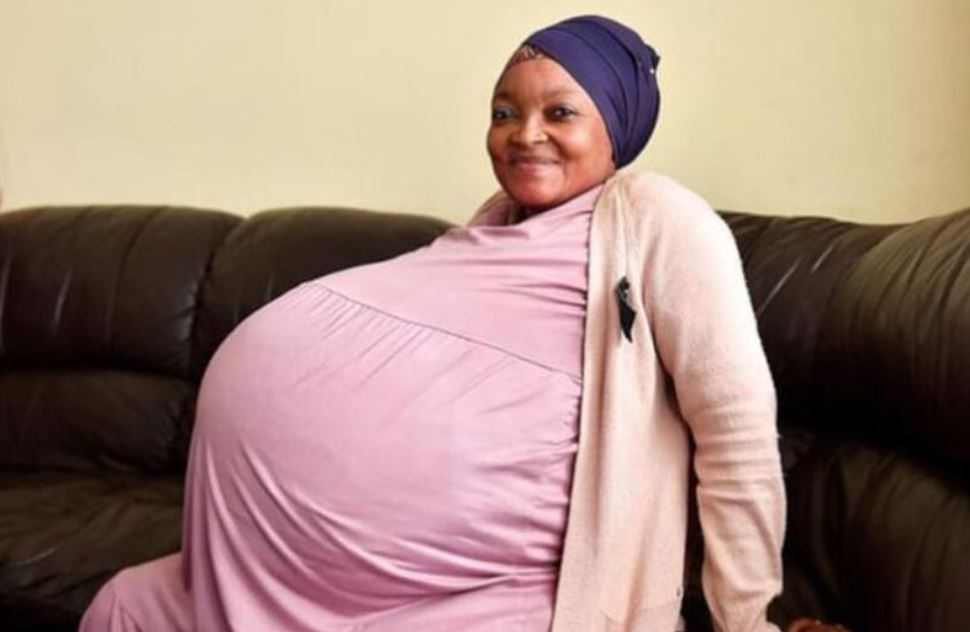 South African woman sets world record by giving birth to 10 babies