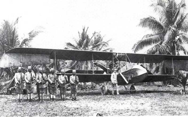 Taitas were the first Kenyans to see a plane