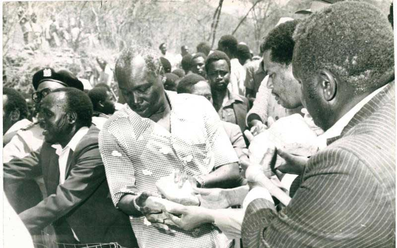 The day former president Moi's cabinet met under a tree, jogged