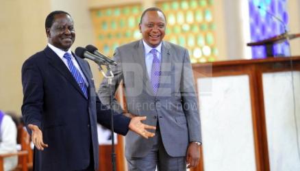 The Kenyattas, Odingas are birds of a feather