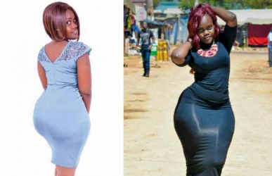 The most curvaceous girl in Moi University: Fresher voted 'gifted' of them all