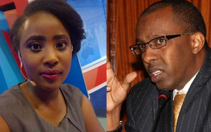 TV queen takes on Ahmednasir Abdullahi over 'booty size' comment