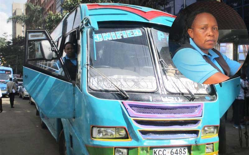 A woman 'ran' when she saw me at the drivers' seat- Meet Githurai's female bus driver
