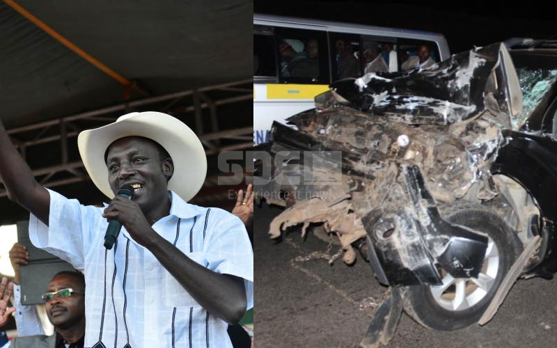 An emotional De'Matthew cried just before the road accident