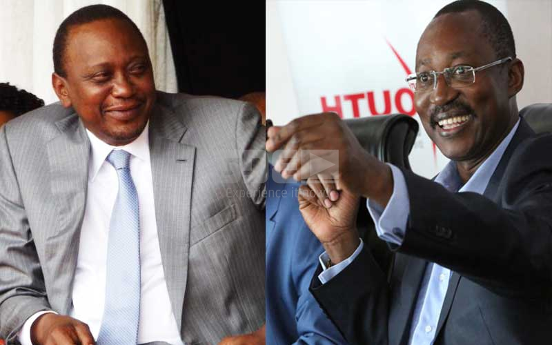 Bruce Odhiambo: Seven of President Uhuru's personal friends
