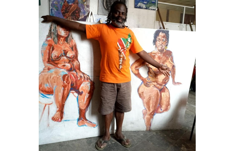 Drawing nude women is therapy, veteran artist reveals