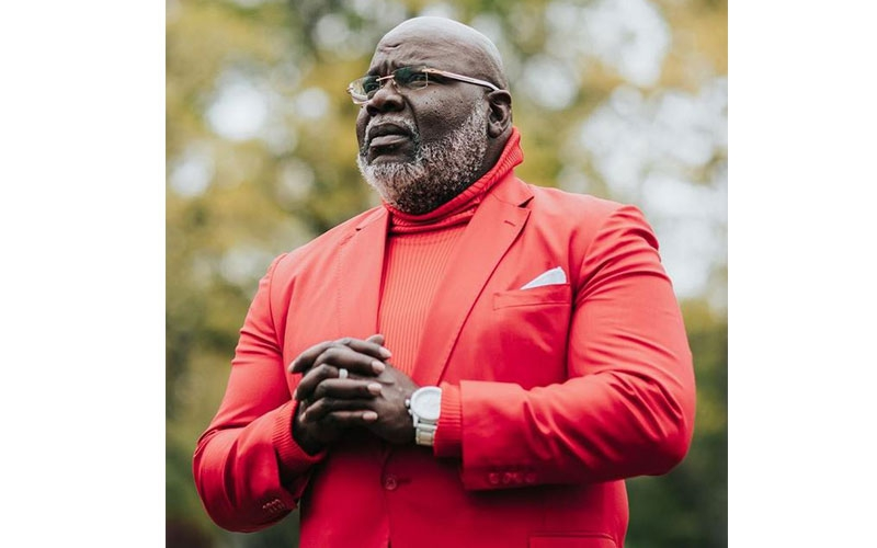 Exclusive dinner with Bishop TD Jakes to cost Sh75, 000
