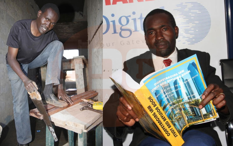 Finally: Bungoma carpenter to become advocate after 20 years