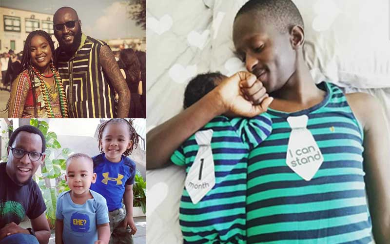 Five Kenyan celebrities who make awesome dads