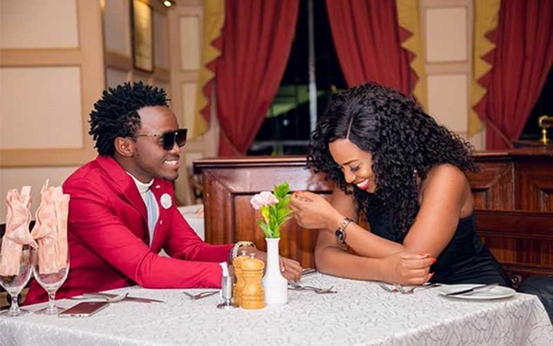 Gospel singer Kevin Bahati proposes to Diana on New Year's eve