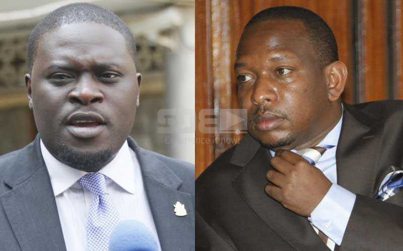 Governor Sonko and Senator Sakaja differ over handling of Djs in Nairobi