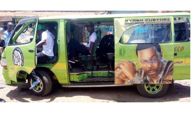 Hottest matatu: Langas' Rapture is unbeatable
