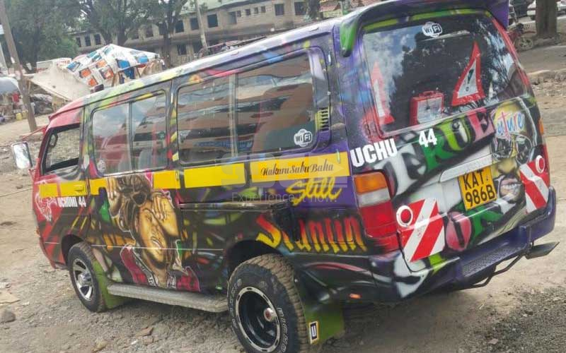 Hottest matatu: The future of Nakuku is here