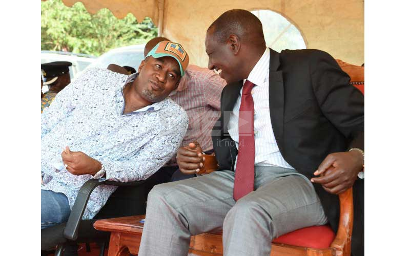 Joho links Ruto to his drug woes, dares DP to face him