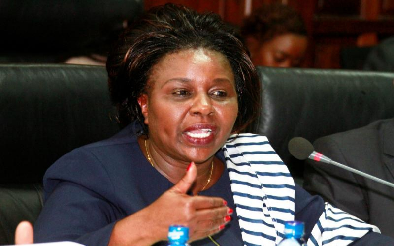 Joyce Laboso third governor to die in office