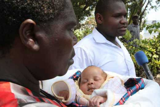KNH on the spot again as three week old twin baby is stolen