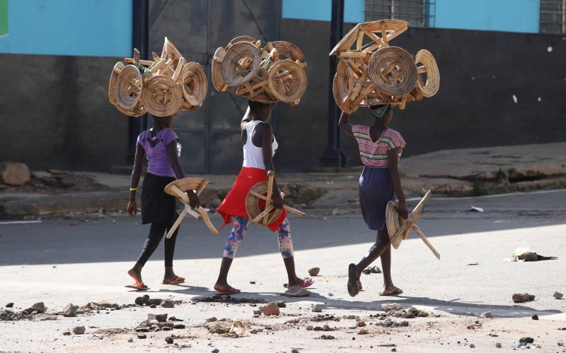 Locals pushed out as foreign hawkers invade Kisumu town