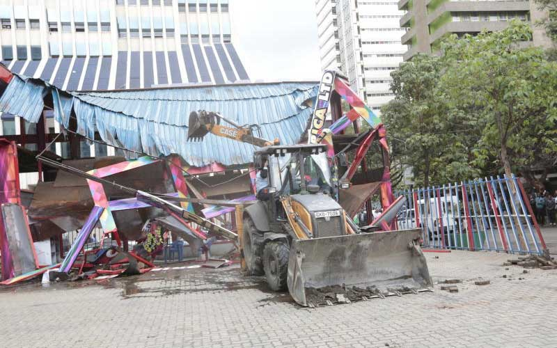 Loses as Sonko brings down complex on former Simmers club land