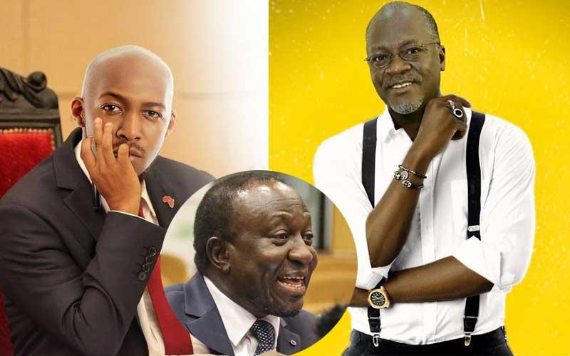 Magufuli Photoshop: Minister speaks on Idris Sultan's 'arrest warrant'