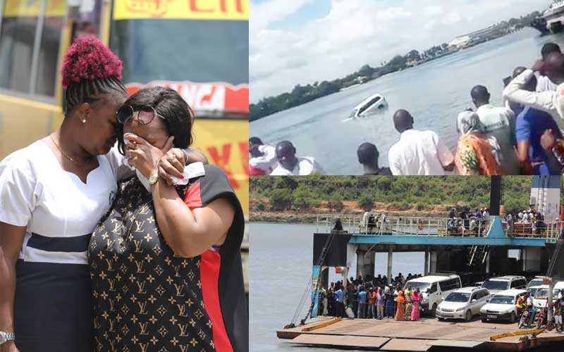 Man recalls last call to wife moments before car plunged into Likoni Channel