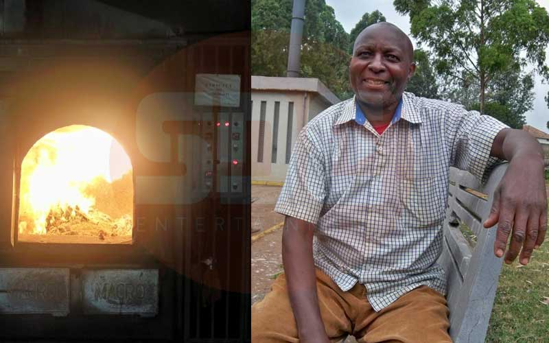 Meet Robert Mwania, the man who has cremated 8,000 Kenyans at Kariokor