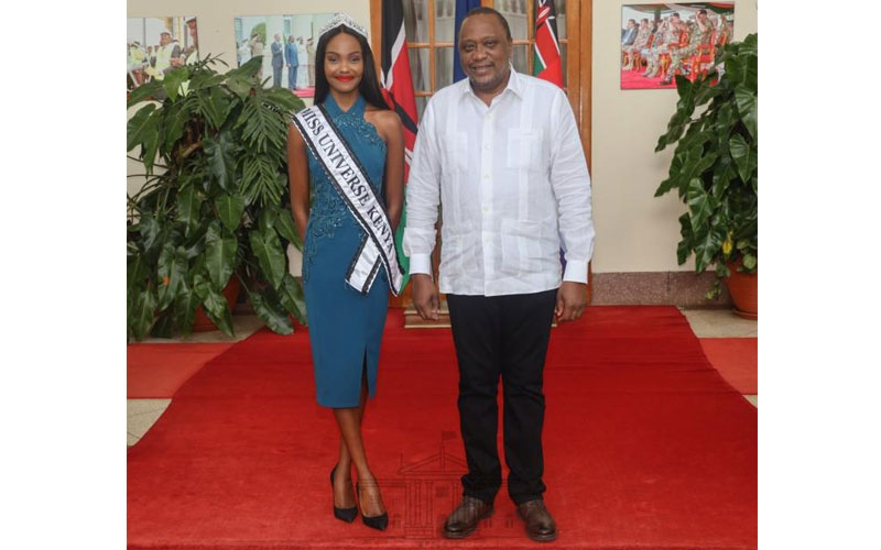 Miss Universe Stacy Michuki's message after meeting President Uhuru