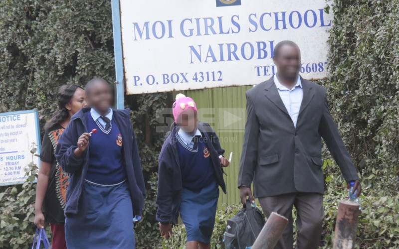 Moi Girls School Nairobi sued for kicking out 'daydreaming' girl