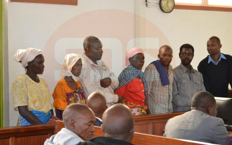 Murdered Kitui teacher's husband among six suspects arraigned in court