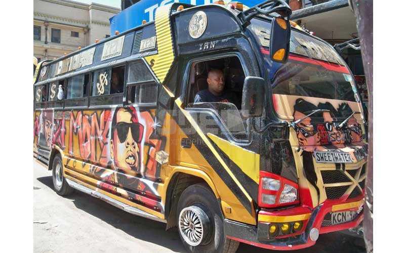 Nairobi's hottest matatu: Eastleigh now have their Sultan
