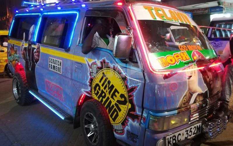 Nairobi's hottest matatu: Hoax rocks Sh700,000 rear wheels