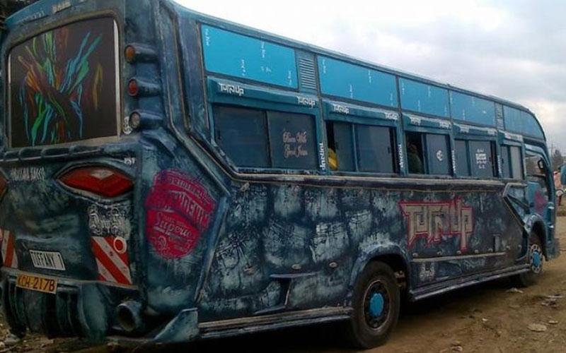 Nairobi's hottest matatu: Tiffany storms Embakasi