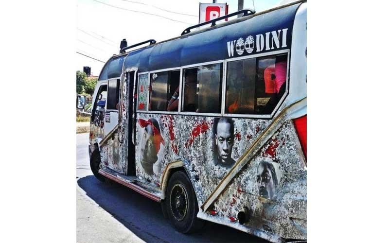 Nairobi's hottest matatu: Woodini not pulling stunts in Buru