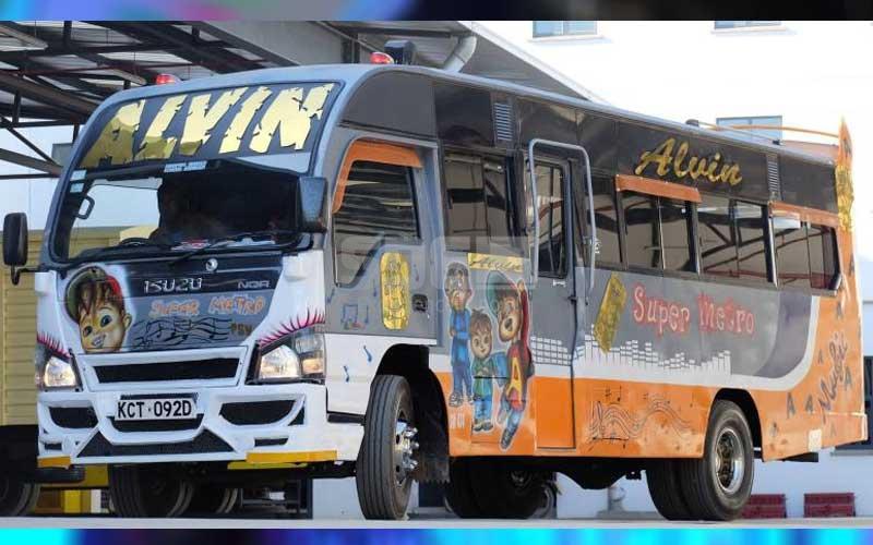 Nairobi's hottest matatu: Alvin is spreading love on the road