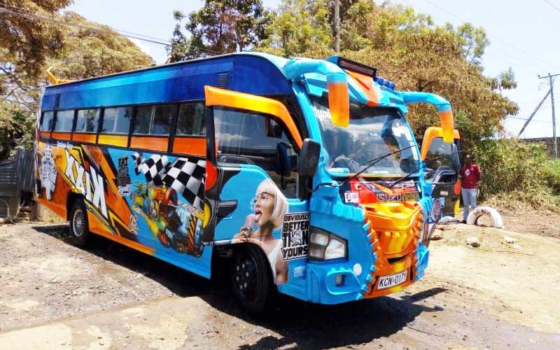 Nairobi's hottest matatu: Kixx is back and deadly