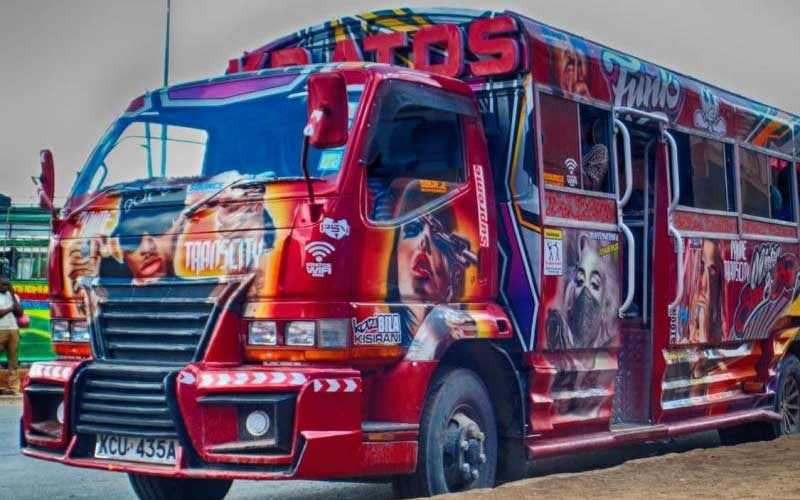 Nairobi's Hottest Matatu: Kayole's Kratos boasts of a smart TV