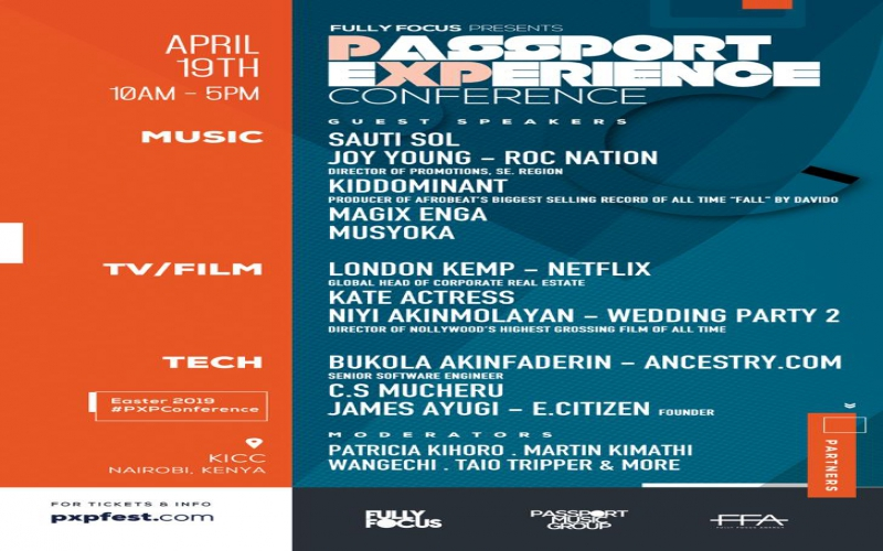 Netflix, Sauti Sol, Roc Nation set for Passport Experience conference in Nairobi