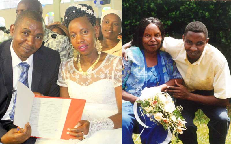 PHOTOS: Peter Mbugua remarries eight years after Wambui Otieno's death