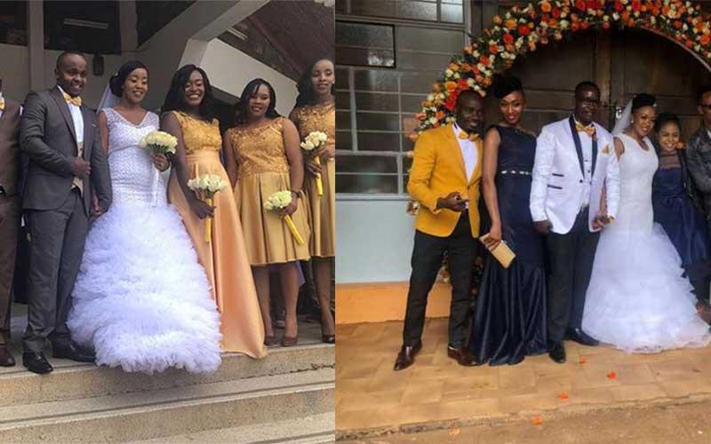 PHOTOS: Dj Mo's sister, TV anchors Nancy Onyancha, Job Mwaura colourful ceremonies