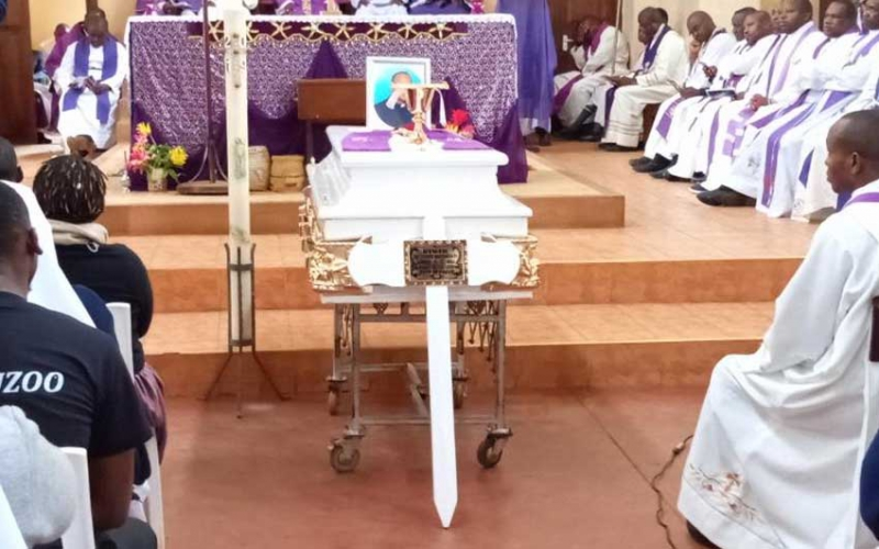 Priest killed in Meru buried at send-off attended by hundreds