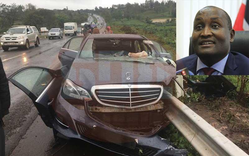 Revealed: Former Nyeri Governor Gakuru's driver did not apply brakes during tragic crash
