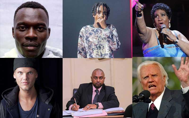SDEHotList: Celebrities we lost in 2018