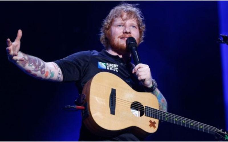 Singer Ed Sheeran sued for Sh10 billion