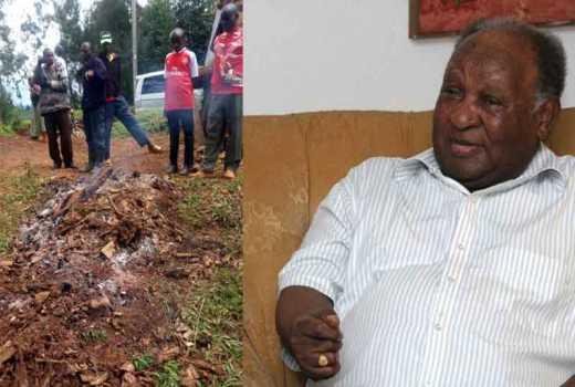Struck by lightning: Mugumo tree fell in Muranga hours before Matiba died