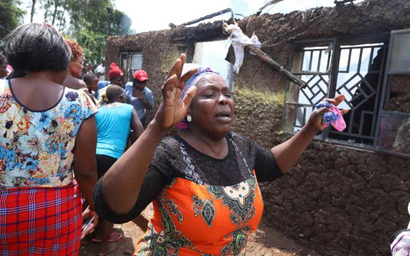Tragedy as Kisumu woman kills self, two children after row with husband